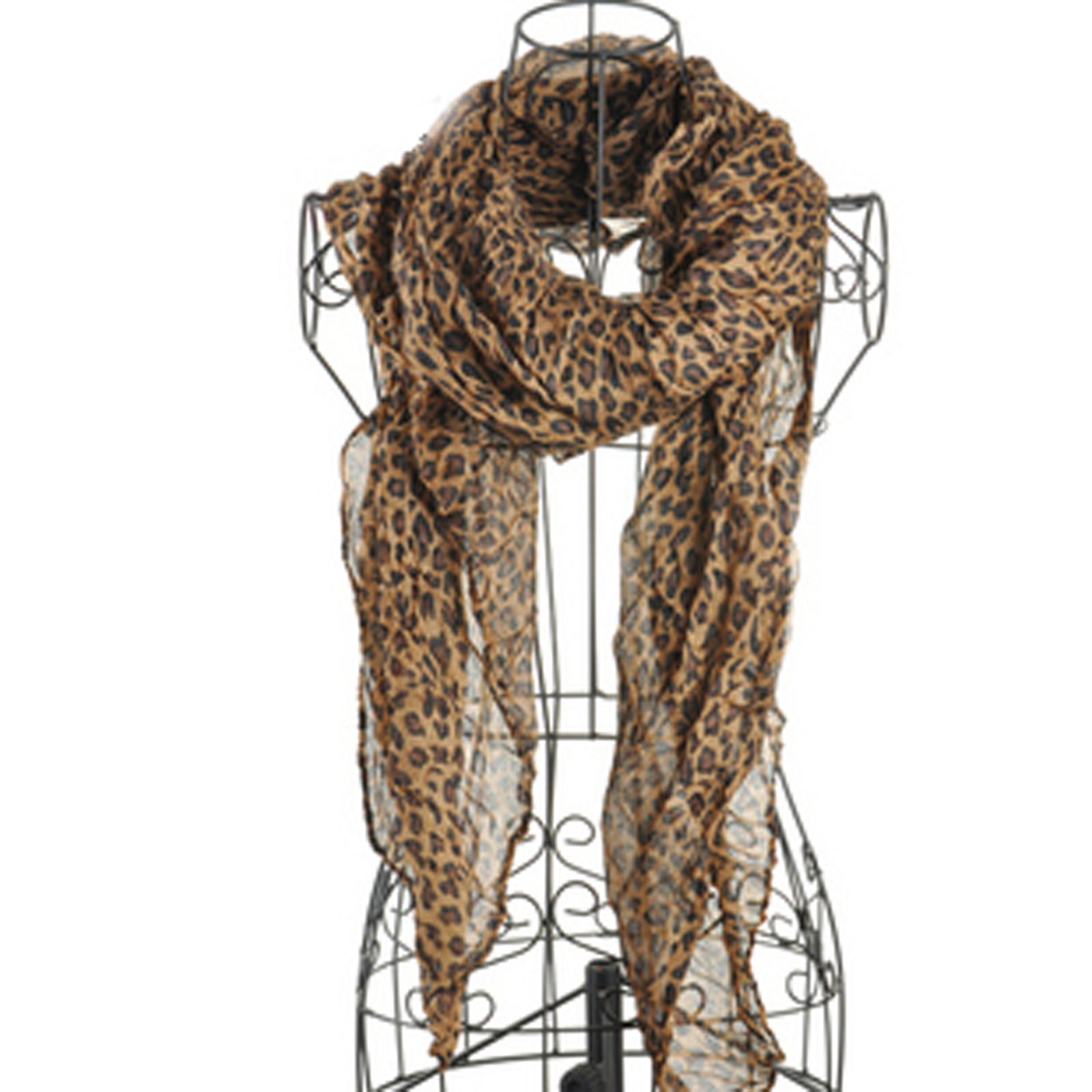 cotton black leopard print scarves silver lining